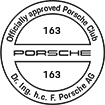 Officially approved Porsche Club 163